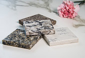 kitchen counter top samples made of granite natural stone
