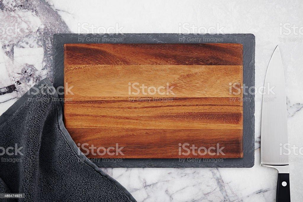Kitchen countertop stock photo