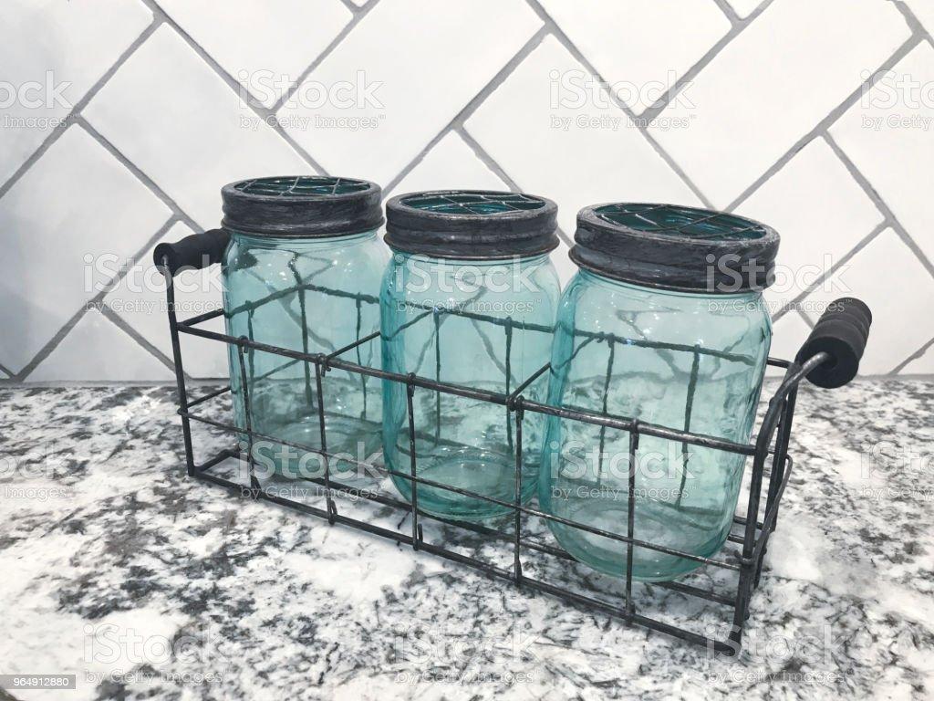 Kitchen Decoration - Royalty-free Basket Stock Photo