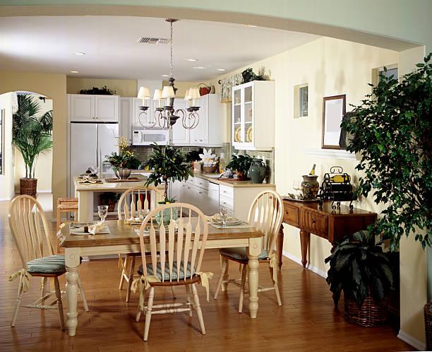 küche design-home interior - backofenfenster reinigen stock-fotos und bilder