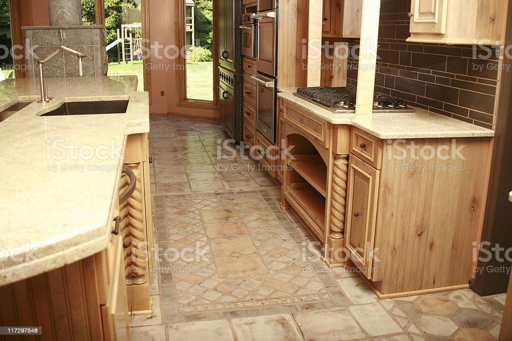Kitchen Design royalty-free stock photo