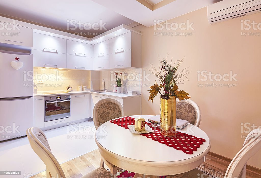 Kitchen design royalty-free stock photo