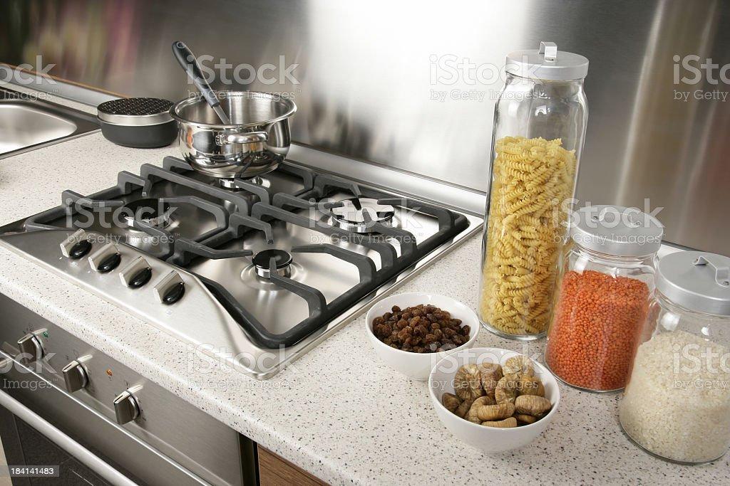 Detalhe de cozinha - foto de acervo
