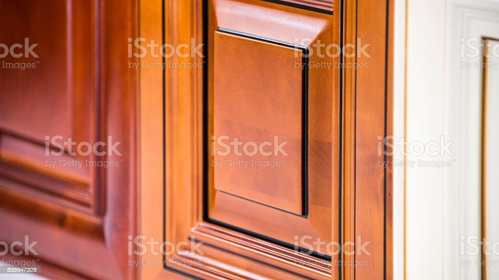 Kitchen door samples stock photo