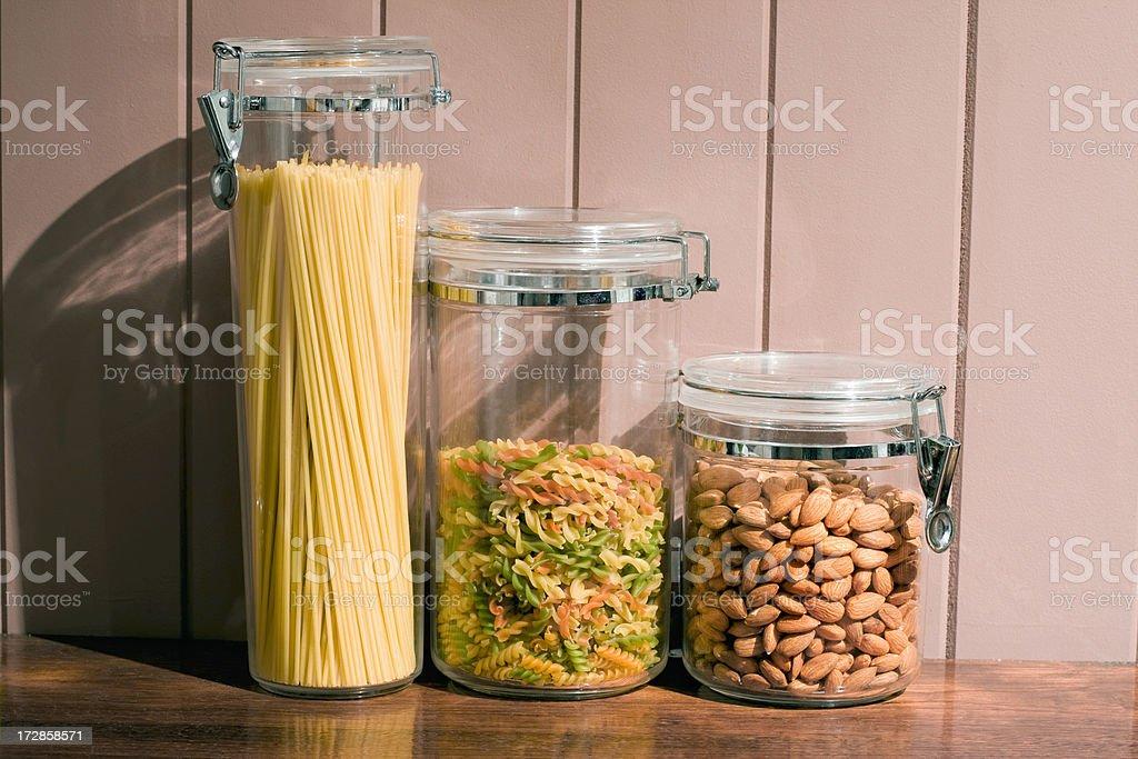 Kitchen Dry Goods royalty-free stock photo