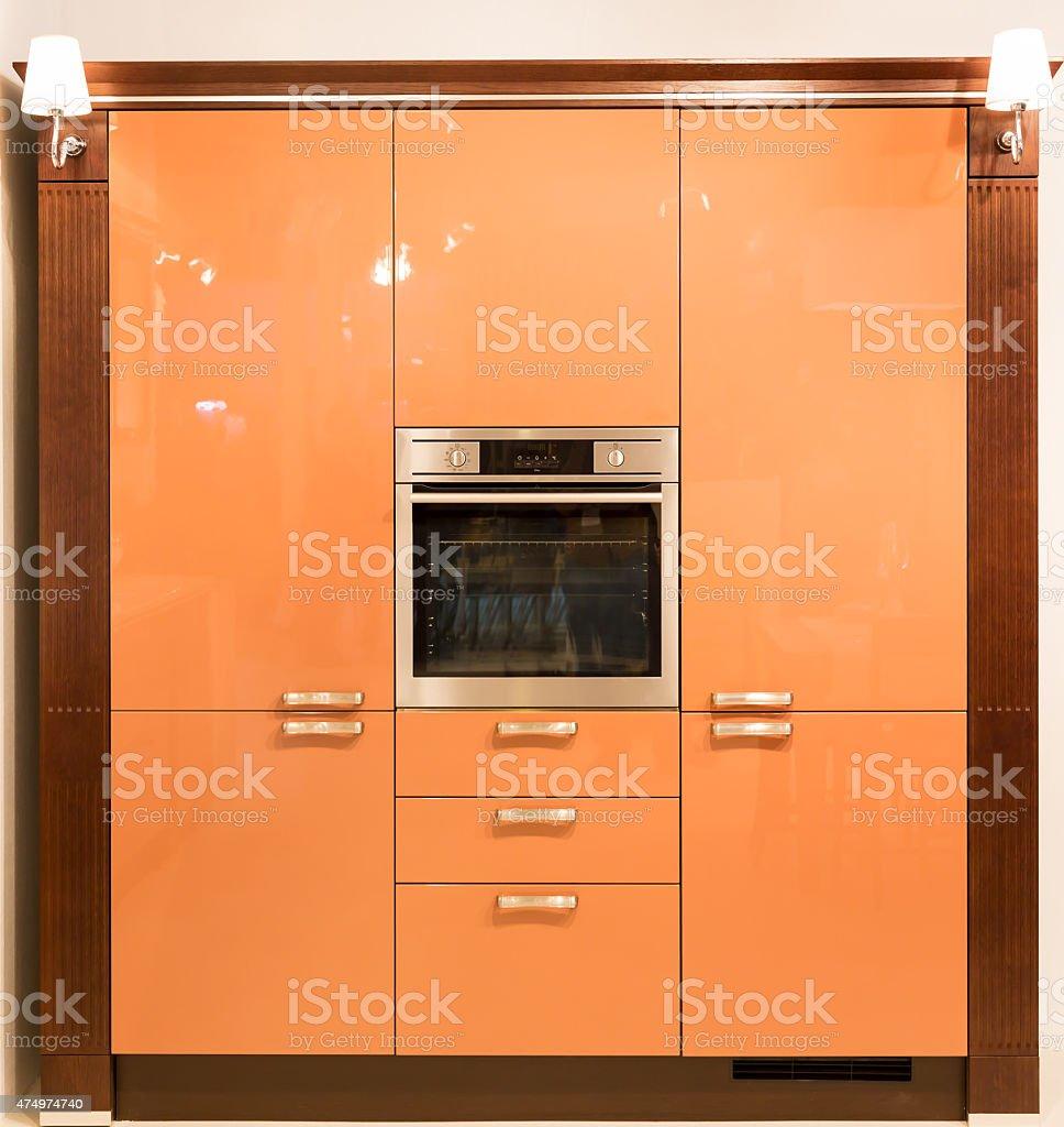 Kitchen furniture stock photo