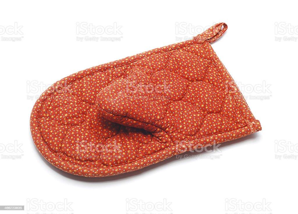 kitchen glove royalty-free stock photo