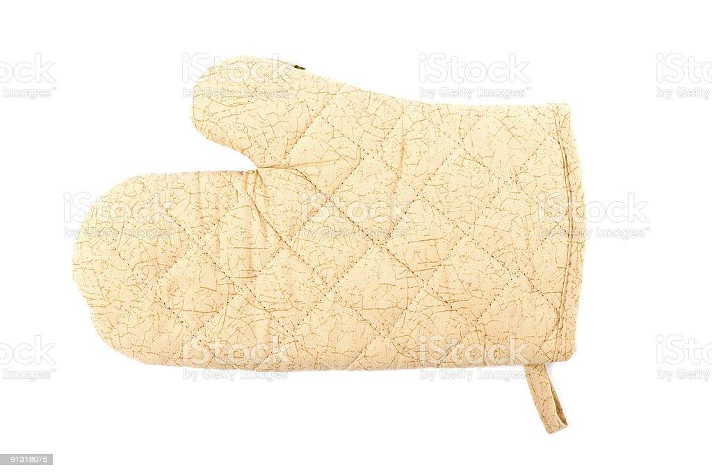 Kitchen glove stock photo