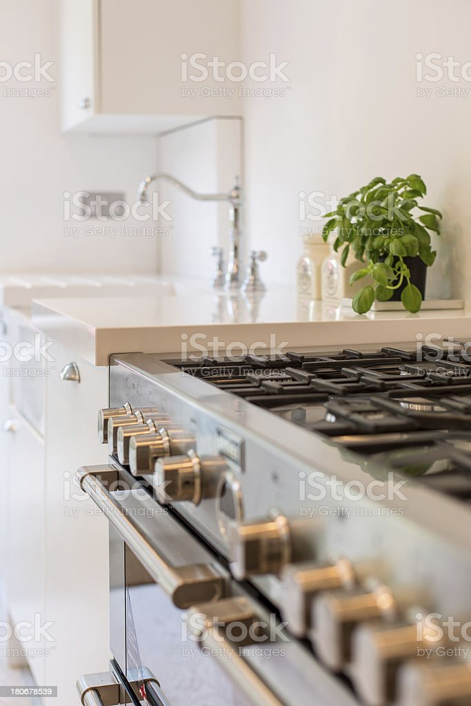 Kitchen Hob royalty-free stock photo