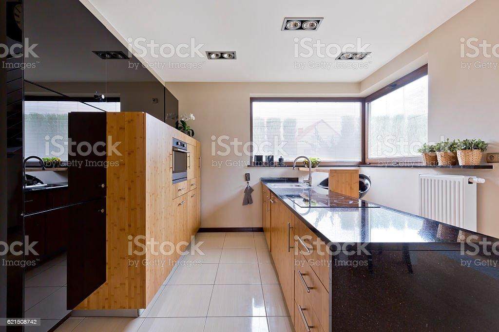 Küche im modernen Stil Lizenzfreies stock-foto