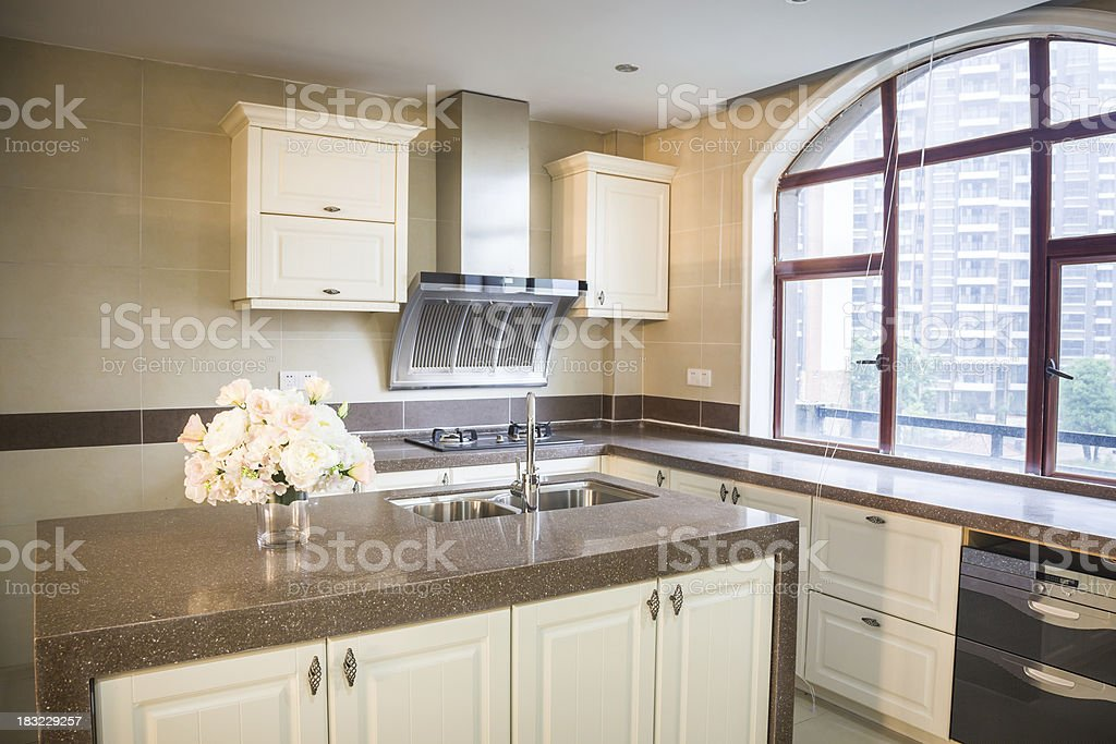 kitchen inside royalty-free stock photo