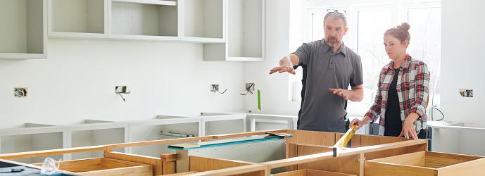 kitchen installation trainee