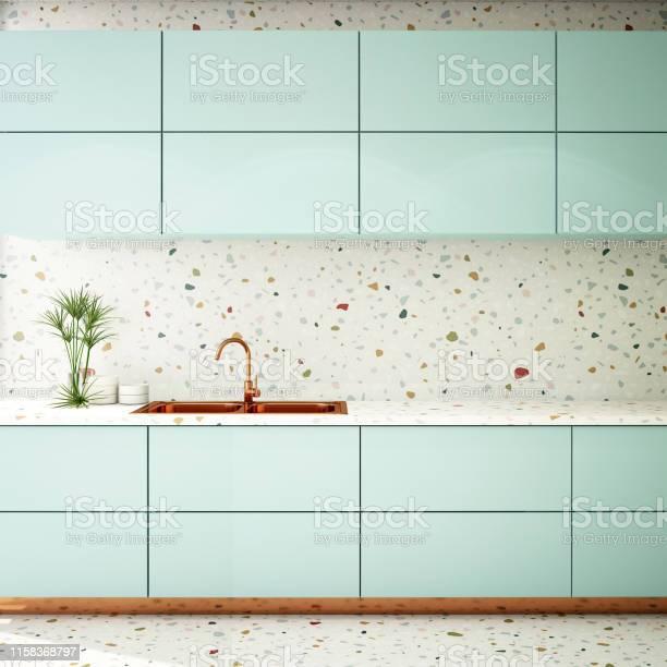 Kitchen interior design in modern style3d rendering3d illustration picture id1158368797?b=1&k=6&m=1158368797&s=612x612&h=zft8e6bpxjyw8fng3tbmxxojhtolbvqtcukt4xp rj8=