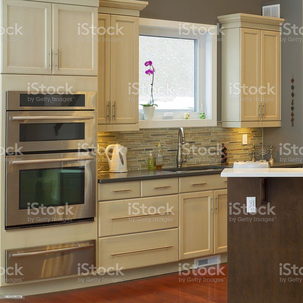 Kitchen Interior Design royalty-free stock photo