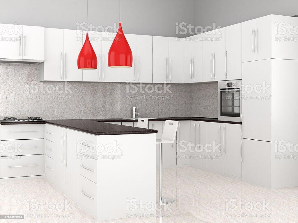 Kitchen Interior royalty-free stock photo