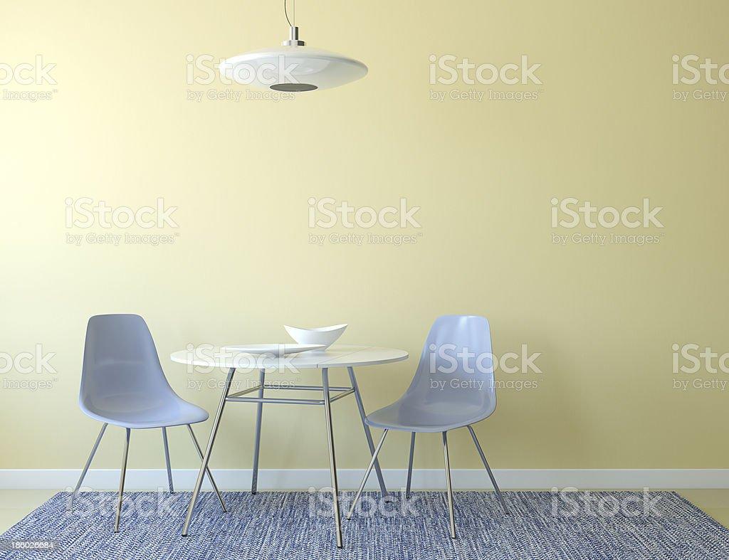 Kitchen interior. stock photo