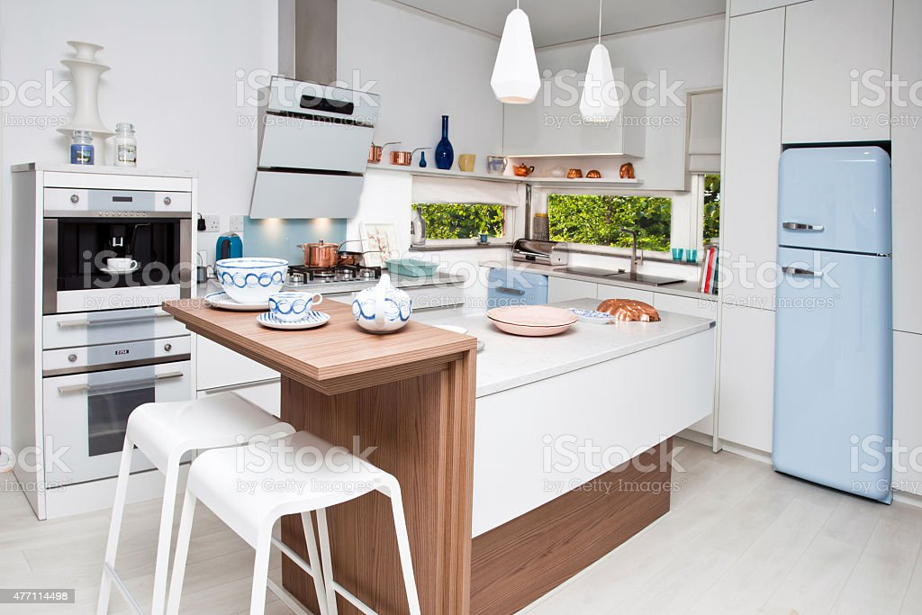 Kitchen interior stock photo
