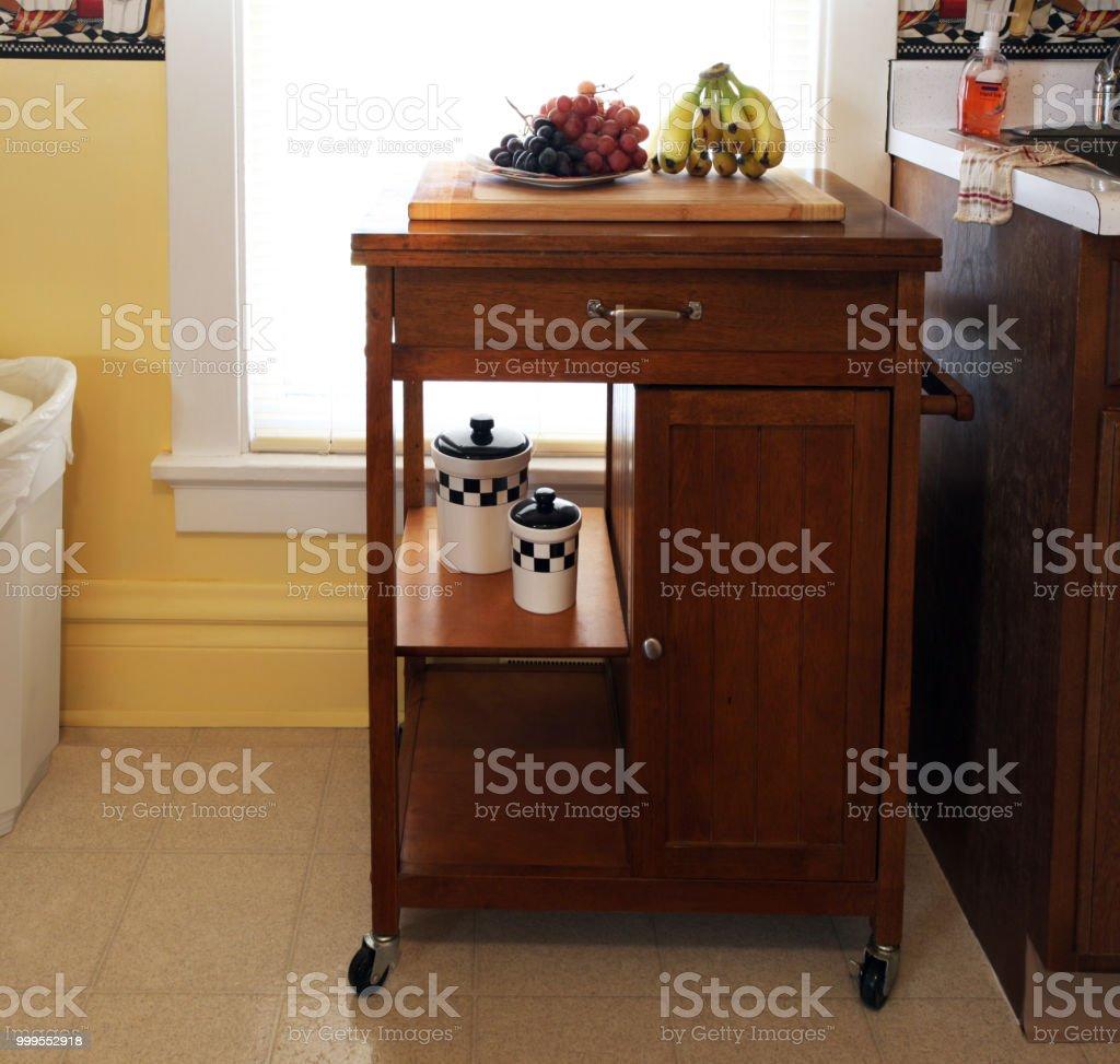 Die Küche Ist Mittelpunkt Familie Mit Nahrung Waschbecken ...