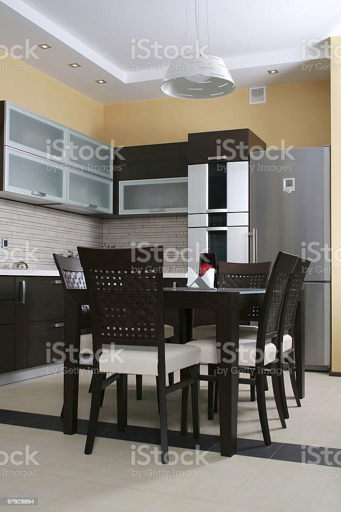 Kitchen itnerior royalty-free stock photo