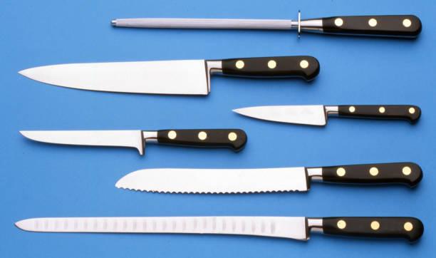 köks knivar och tillbehör - bordskniv bildbanksfoton och bilder