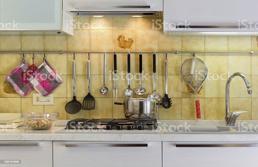 Kitchen Life royalty-free stock photo