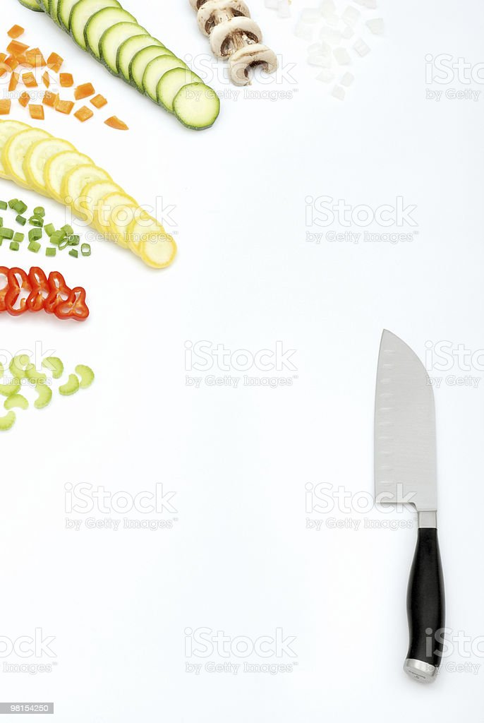 Kitchen Menu stock photo