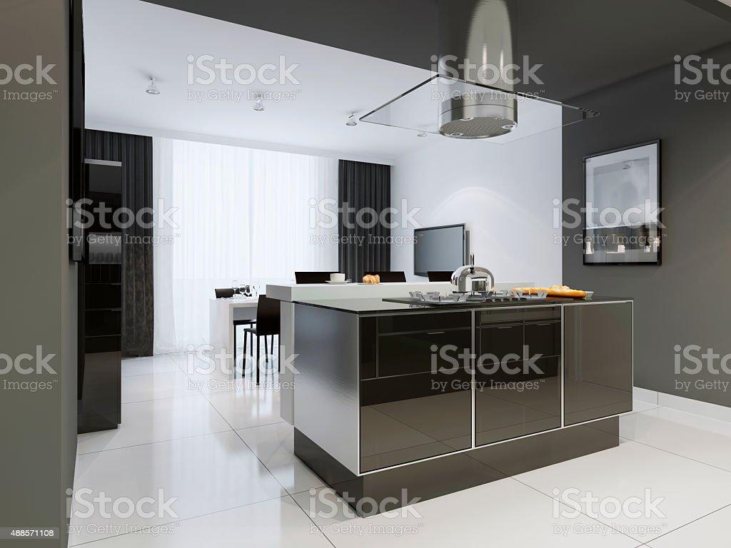 Cucina Stile Moderno - Fotografie stock e altre immagini di ...