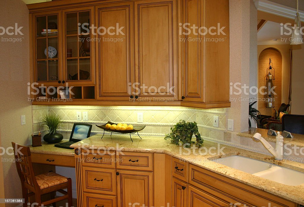 Kitchen Office royalty-free stock photo