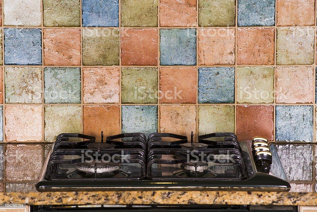Kitchen Oven royalty-free stock photo
