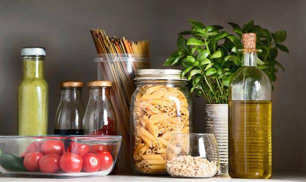 Kitchen pantry with italian food products picture id945997110?b=1&k=6&m=945997110&s=612x612&w=0&h=ripsee4jx2gsvvw suhuqwacshush2qnshepy2q5sfm=