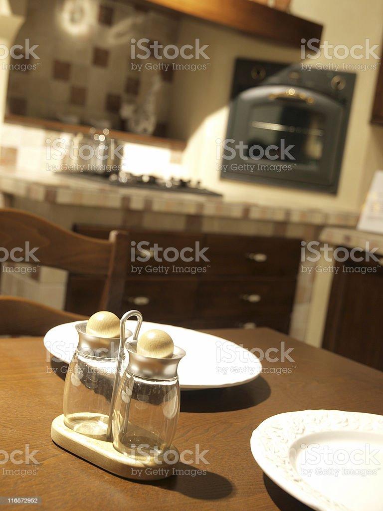 Ausgestattete Küche – Foto