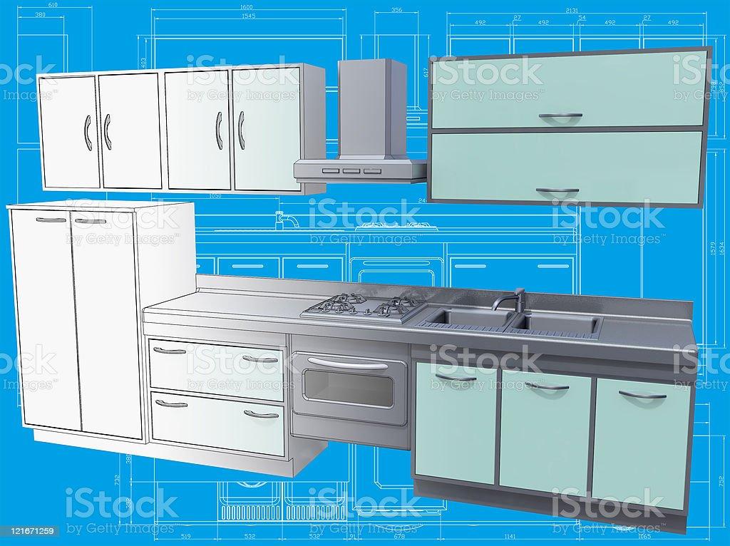 Küche. – Foto