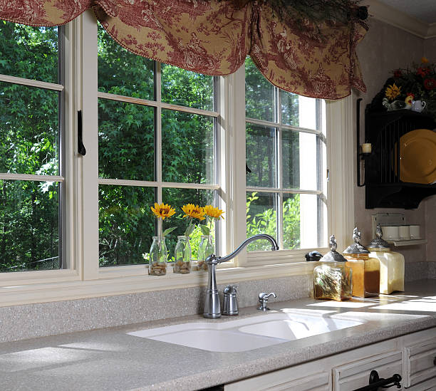 kitchen - kitchen sink stock photos and pictures
