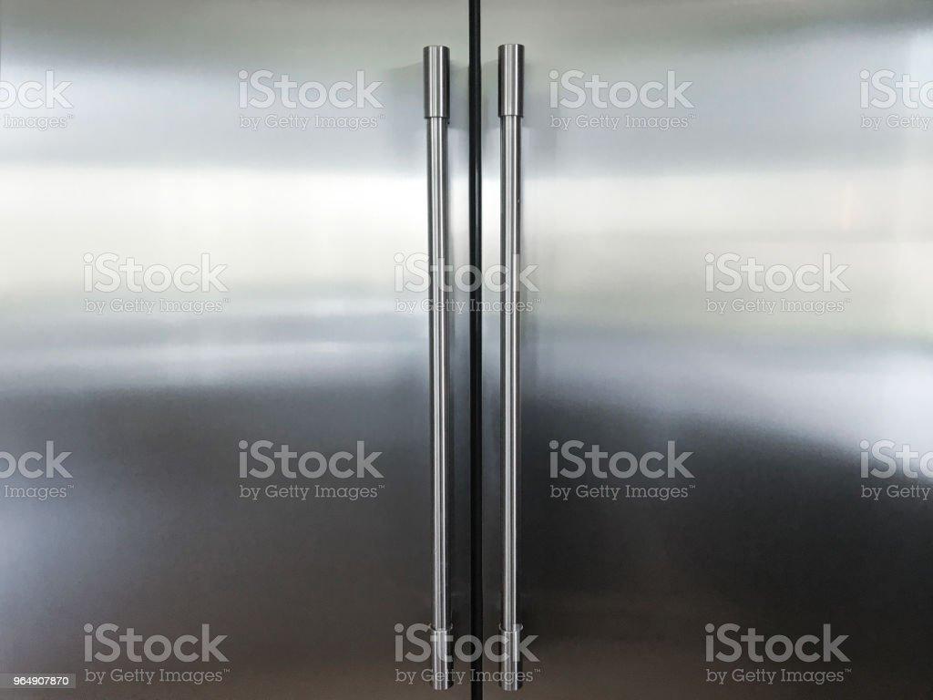 Kitchen Refrigerator royalty-free stock photo
