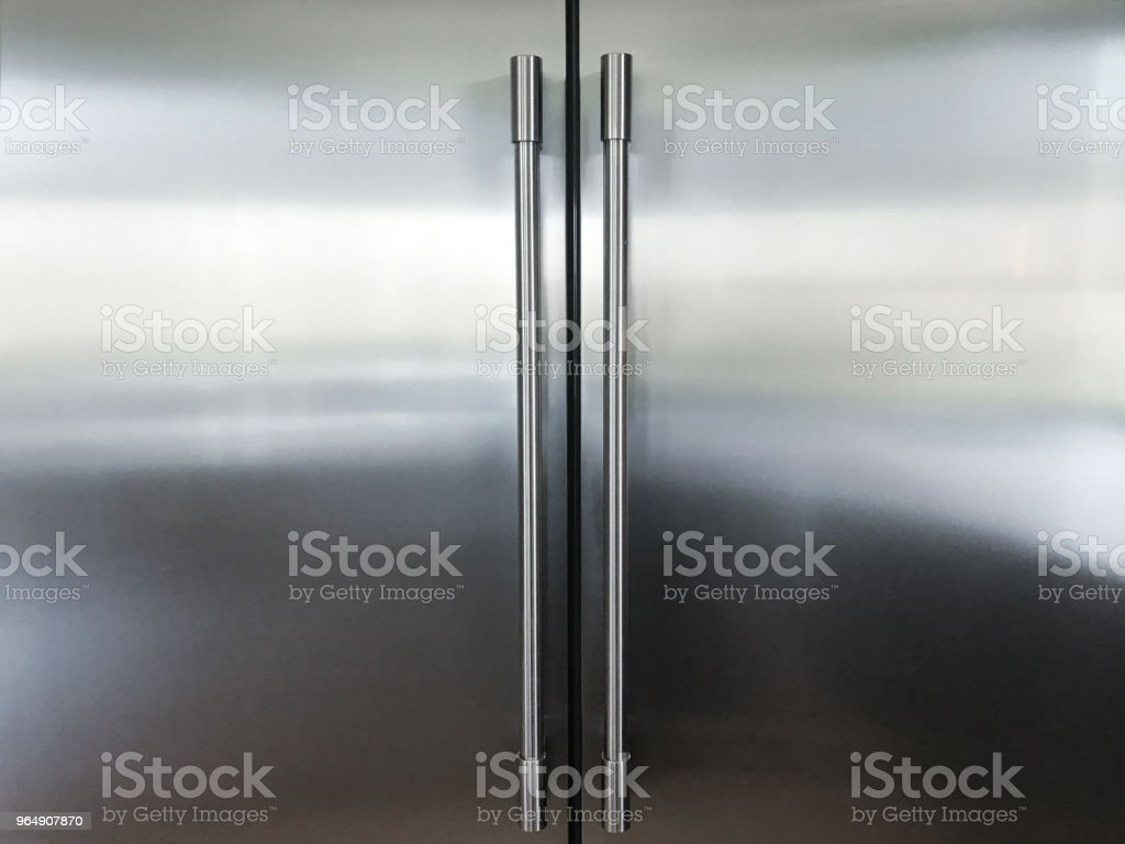 Kitchen Refrigerator stock photo