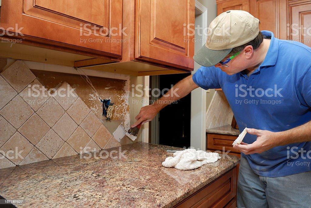 Kitchen Remodeling stock photo