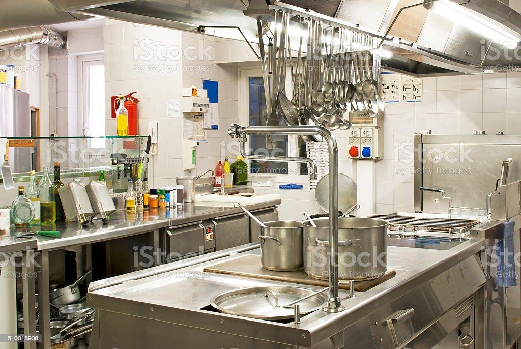 Kitchen restaurant stock photo