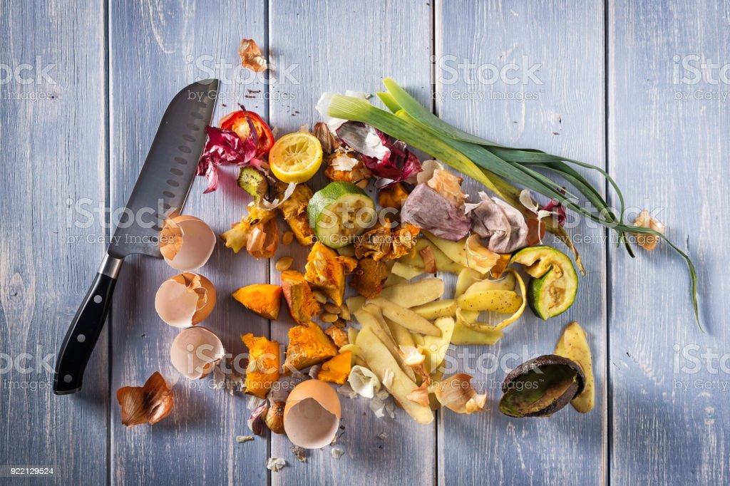 Kitchen Scraps stock photo