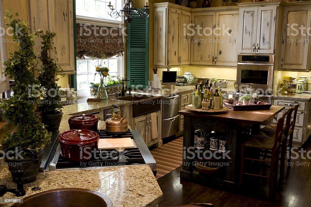 Kitchen Series stock photo