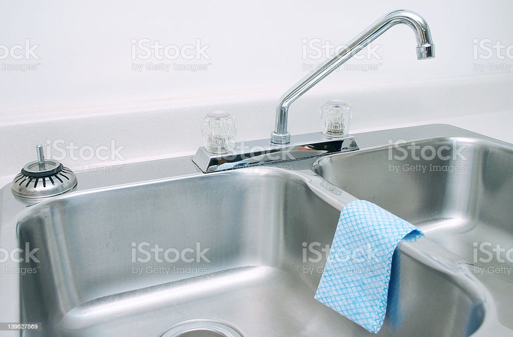 Kitchen sink 2 royalty-free stock photo