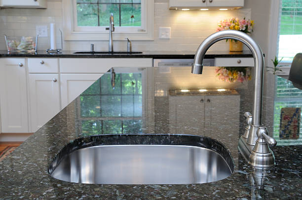 Kitchen sink on granite counter picture id156201479?b=1&k=6&m=156201479&s=612x612&w=0&h=ieprafjhpgbsez thgzlwxpyqp 9sbx0wbqfdrd6ds4=