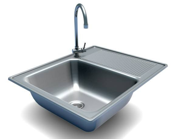kitchen sink - kitchen sink stock photos and pictures
