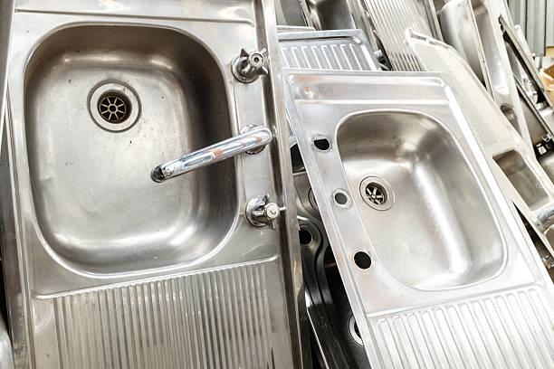 Kitchen Sinks stock photo