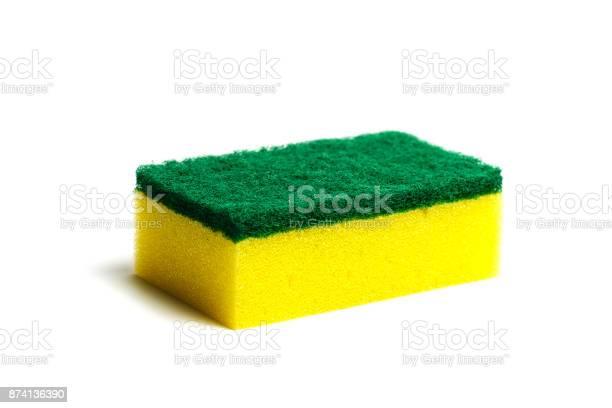 Kitchen sponge isolated on the white background picture id874136390?b=1&k=6&m=874136390&s=612x612&h=mgjagyvt0kieregqspsjbczv6avcpkwnu2 oino1ay0=