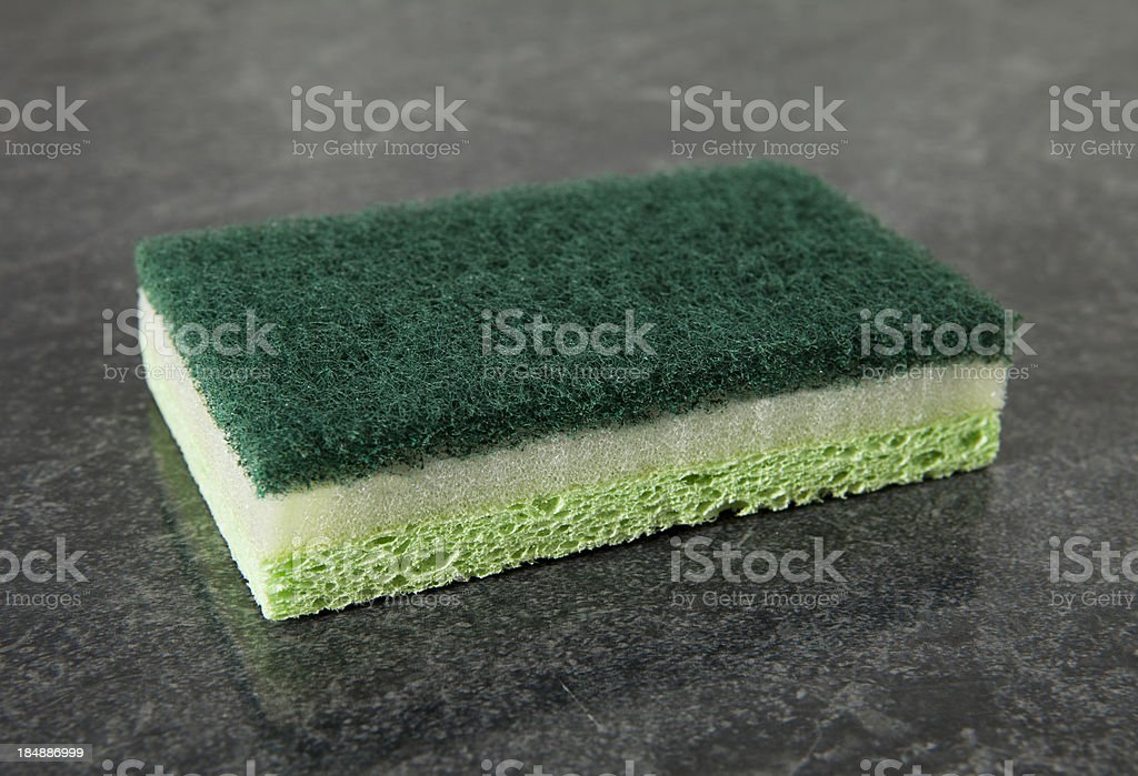 kitchen sponge stock photo