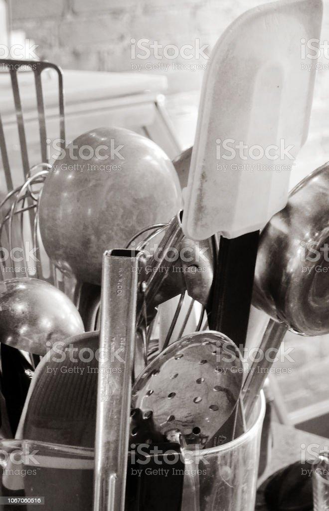Kitchen Stash stock photo