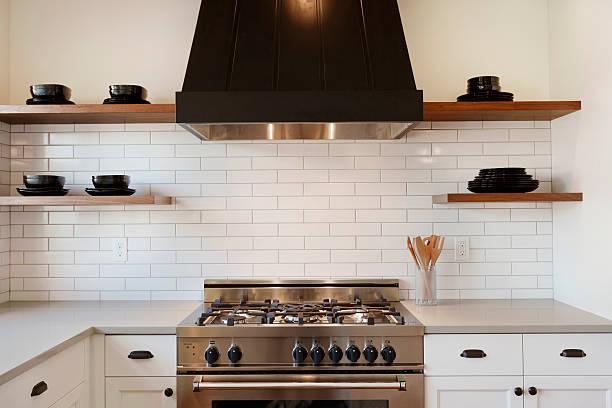 cuisine cuisinière - cuisinière photos et images de collection