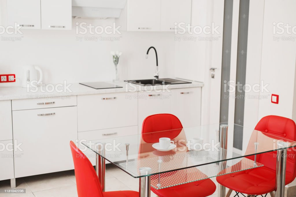 Surprising Kitchen Table With Red Chairs Modern Apartment Coffee Cup On Bralicious Painted Fabric Chair Ideas Braliciousco