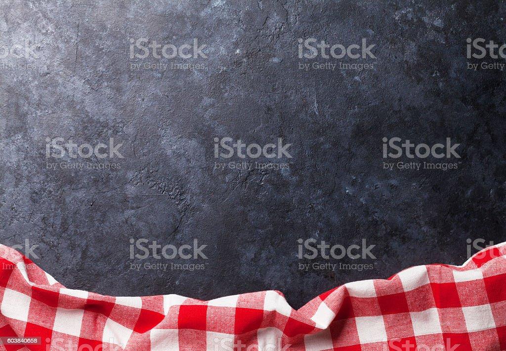 Cuisine Tableau avec serviette - Photo