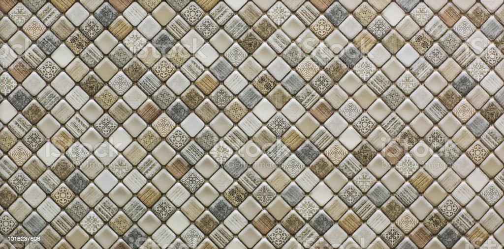 Photo Libre De Droit De Carrelage De Cuisine Avec Motif En Mosaique Abstraite Moderne Banque D Images Et Plus D Images Libres De Droit De Architecture Istock